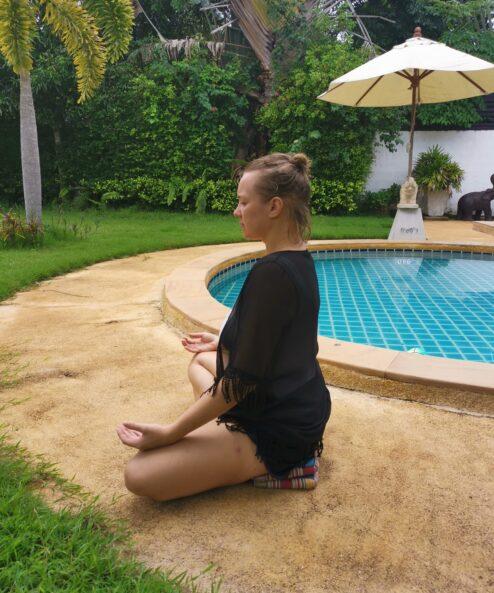 meditacijos pozicija